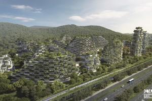 40 tys. drzew i milion roślin. Oto Liuzhou Forest City – miasto, które oddycha