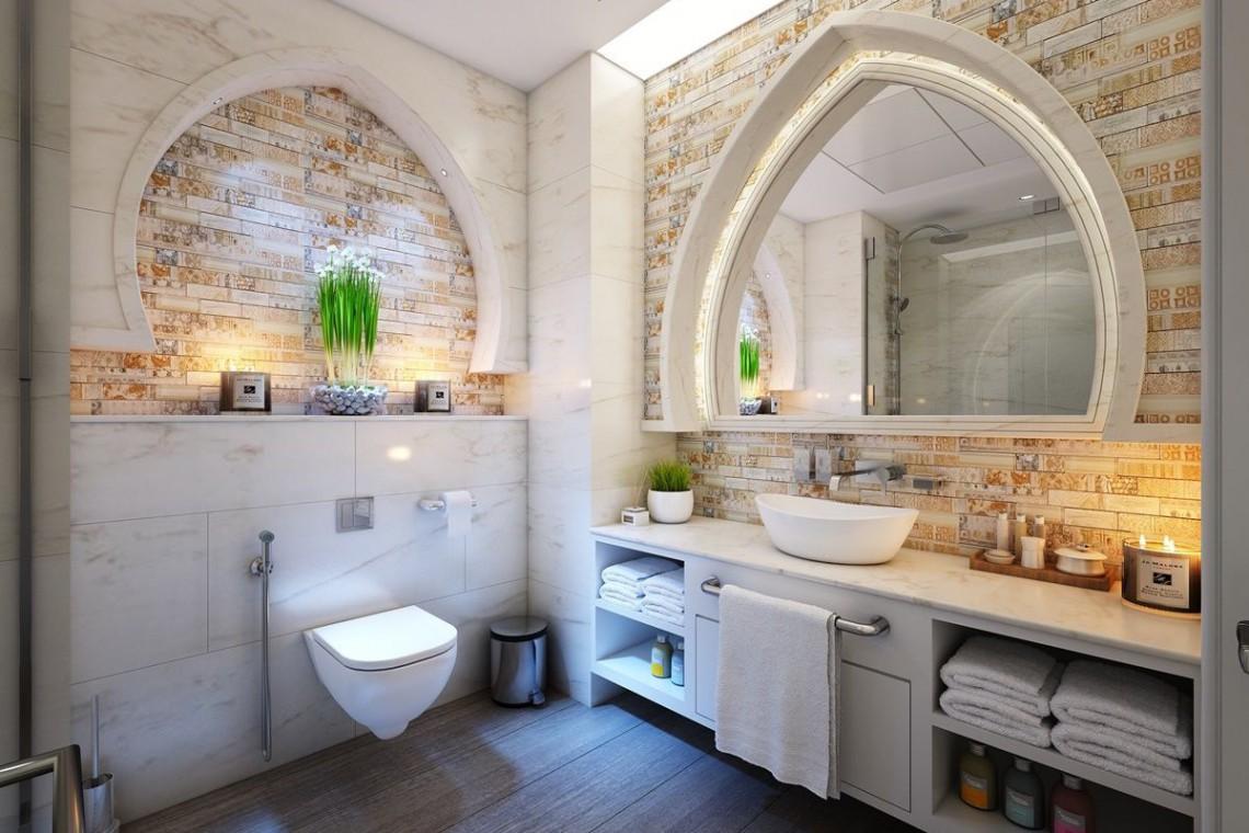 łazienka W Stylu Glamour Design