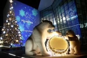Niedźwiadki, ogromna choinka i zapach pierników... Tak Galeria Północna wita swoje pierwsze święta