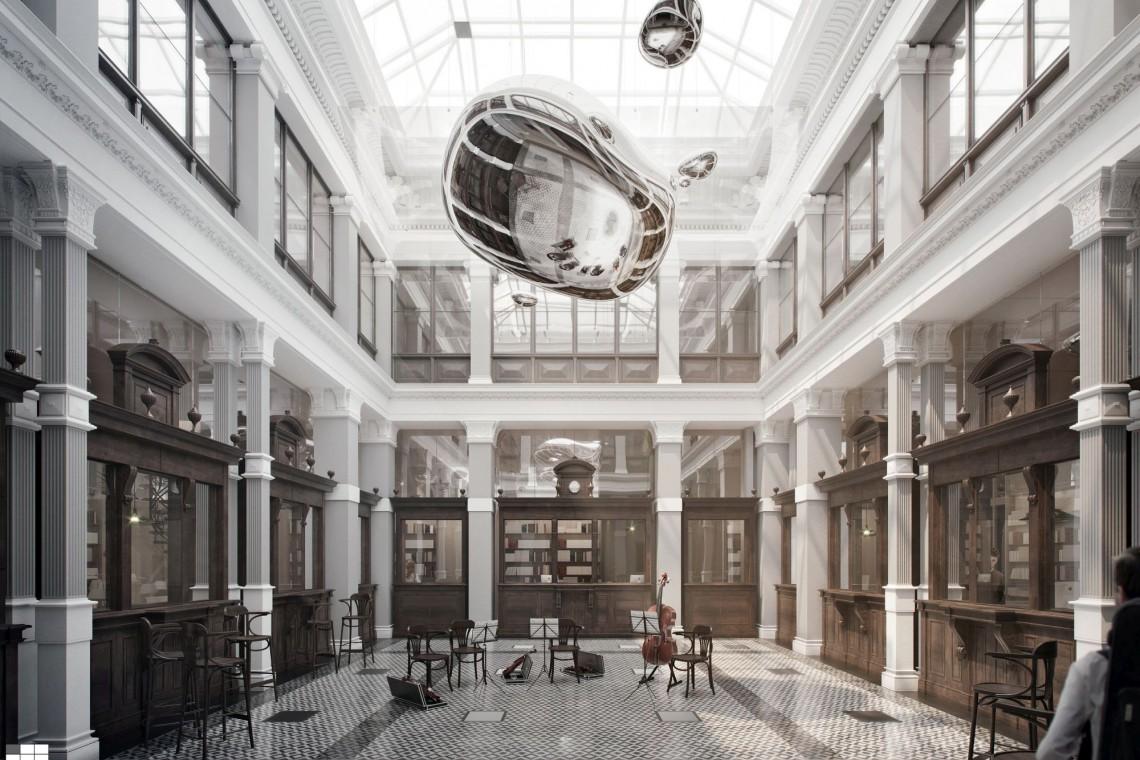 Tak będzie wyglądało nowe Centrum Muzyczne Warszawy. Oto zwycięski projekt szkicu AMC Chołdzyński