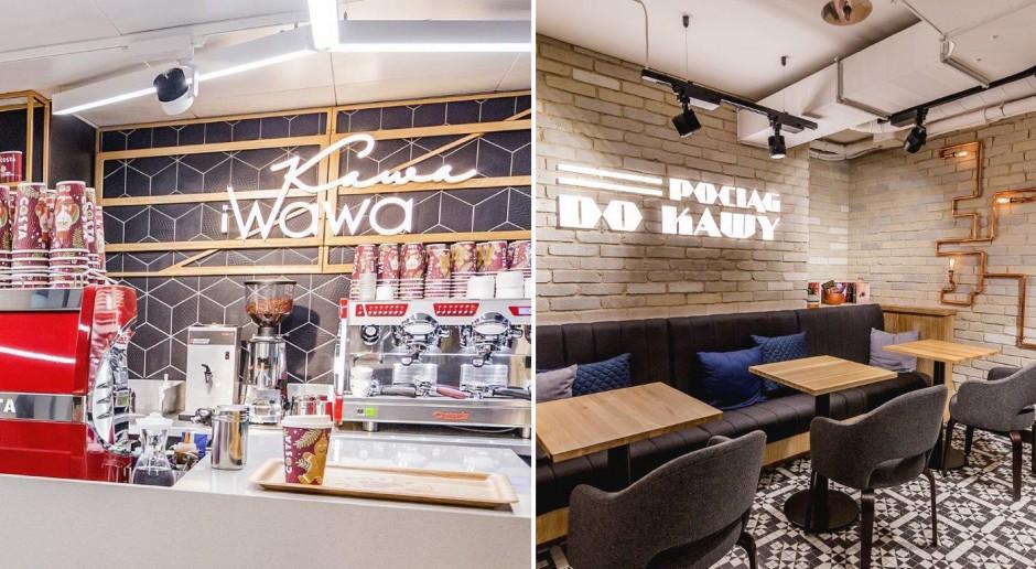 Pociąg do Kawy czy Kawa i Wawa? Oto wnętrza dwóch nowych lokali Costa Coffee w sercu Warszawy