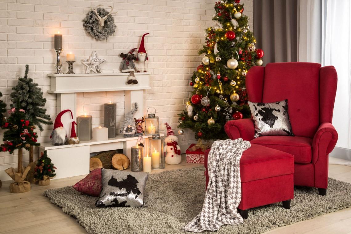 Co zrobić, aby wnętrze zachwycało świąteczną finezją?