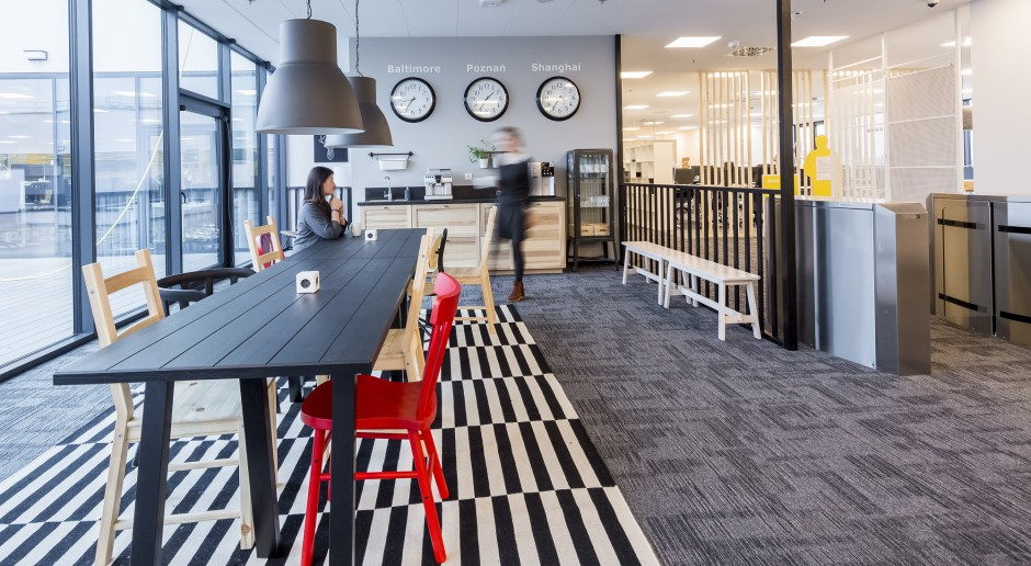 Activity Based Workplace według Ikea BSC Poznań. Meblarski gigant znów zachwycił - tym razem własnym biurem