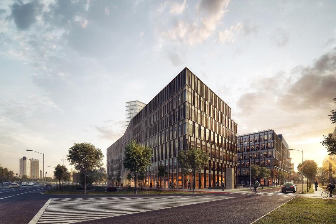 Grono gigantów polskiej architektury projektujące Nowy Rynek w Poznaniu poszerza się