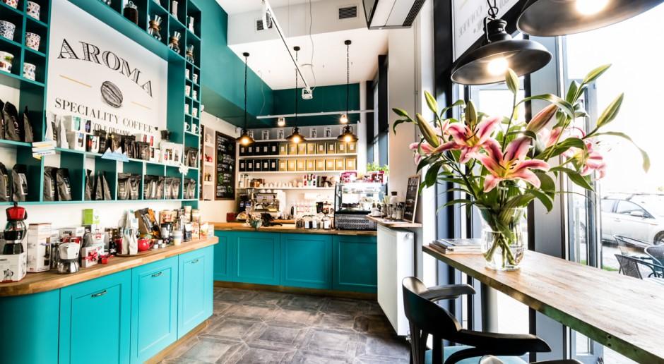 Idealne miejsce dla kawoszy. Piękny design i dobra kawa