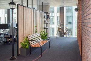 Biuro Goyello w Olivia Business Centre to rowerowa podróż po polsko-holenderskiej krainie