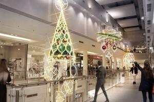TOP 10: Tak rozbłysły na święta największe galerie handlowe w Polsce