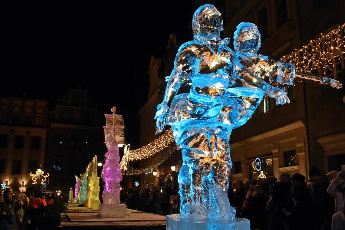 Oto laureaci poznańskiego Festiwalu Rzeźby Lodowej