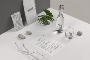 Oto identyfikacja wizualna Genesis Restaurant & Cocktail Bar autorstwa Lange&Lange