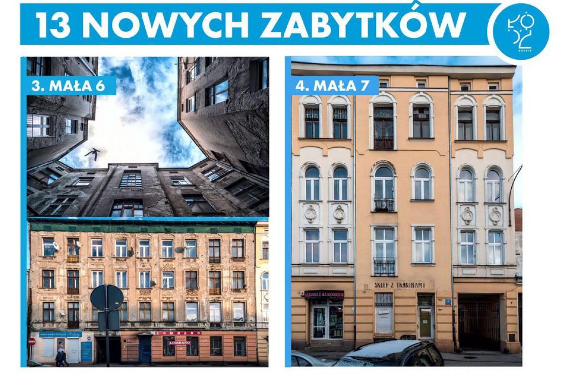 Oto 13 nowych zabytków w Łodzi
