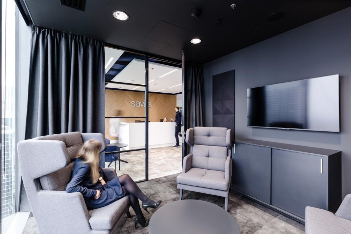 Nowe Biuro Savills Zobacz Jak Sie Pracuje Na 30 Pietrze Q22 Design