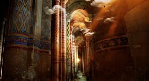 Konserwatorzy odkryli na ścianie kościoła w Bestwinie niezwykłe malunki