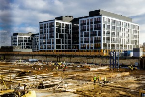 Tak rośnie kompleks Business Garden we Wrocławiu - projekt APA Wojciechowski
