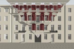 Oto pierwsze projekty elewacji kamienic przy ul. Włókienniczej w Łodzi