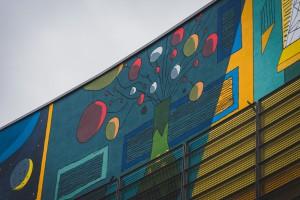 Galeria Krakowska z niezwykłym muralem