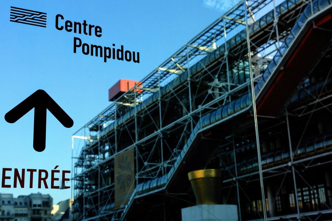 Cesar króluje w Centrum Pompidou