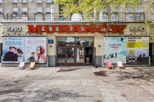 Kultowe Kino Muranów w nowym blasku. Projekt wart docenienia!