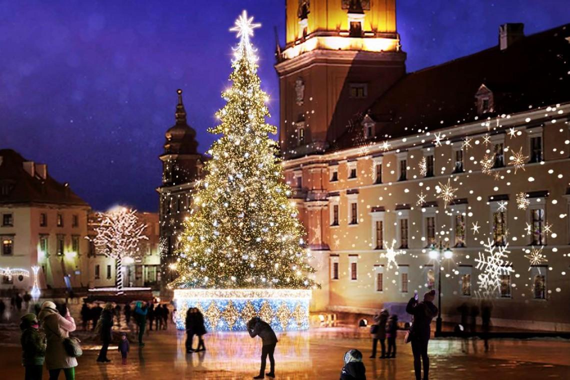 Świąteczna Warszawa. Nowe dekoracje i... niespodzianki
