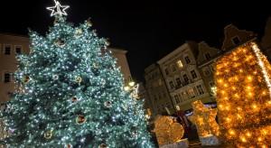 Tak zalśniło Opole na Boże Narodzenie