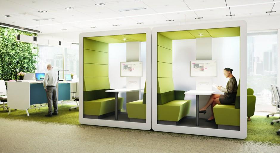 Idea współdzielenia sprawdza się w biurach