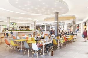 Najnowsze wizualizacje Solaris Center w Opolu. Centrum handlowe w rozbudowie
