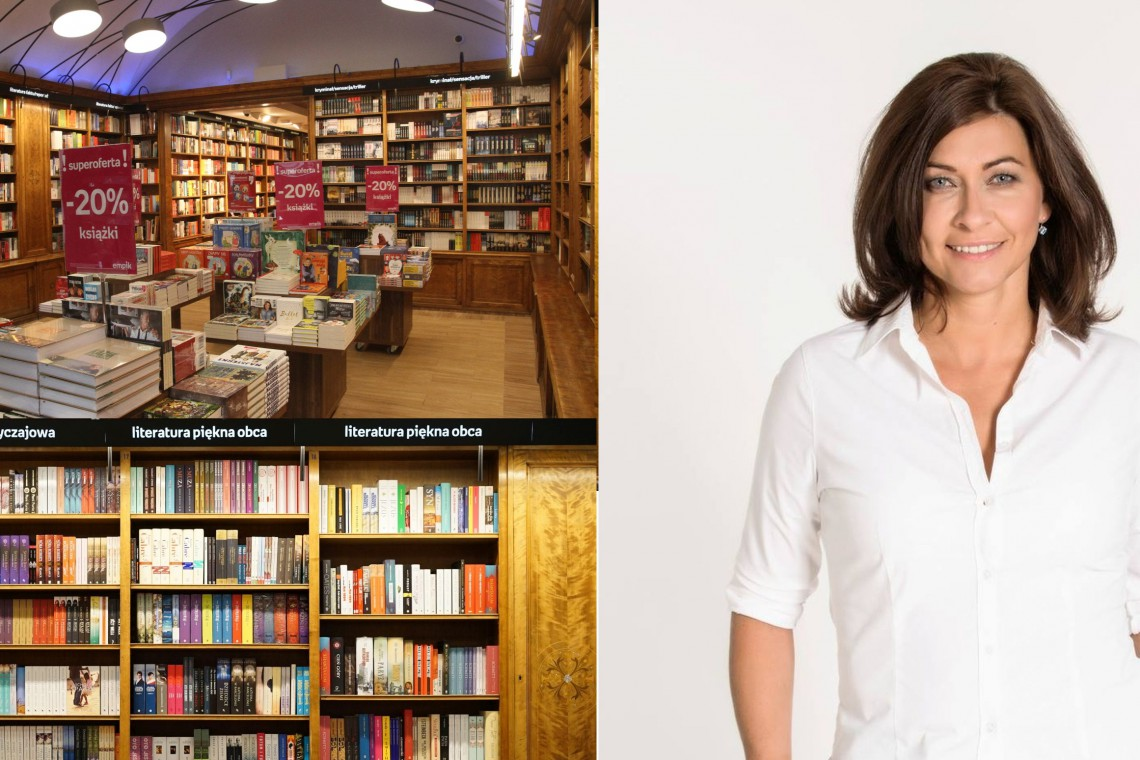 Dziś księgarnie to nie tylko miejsce zakupów, ale też przyjazna przestrzeń do spędzania czasu