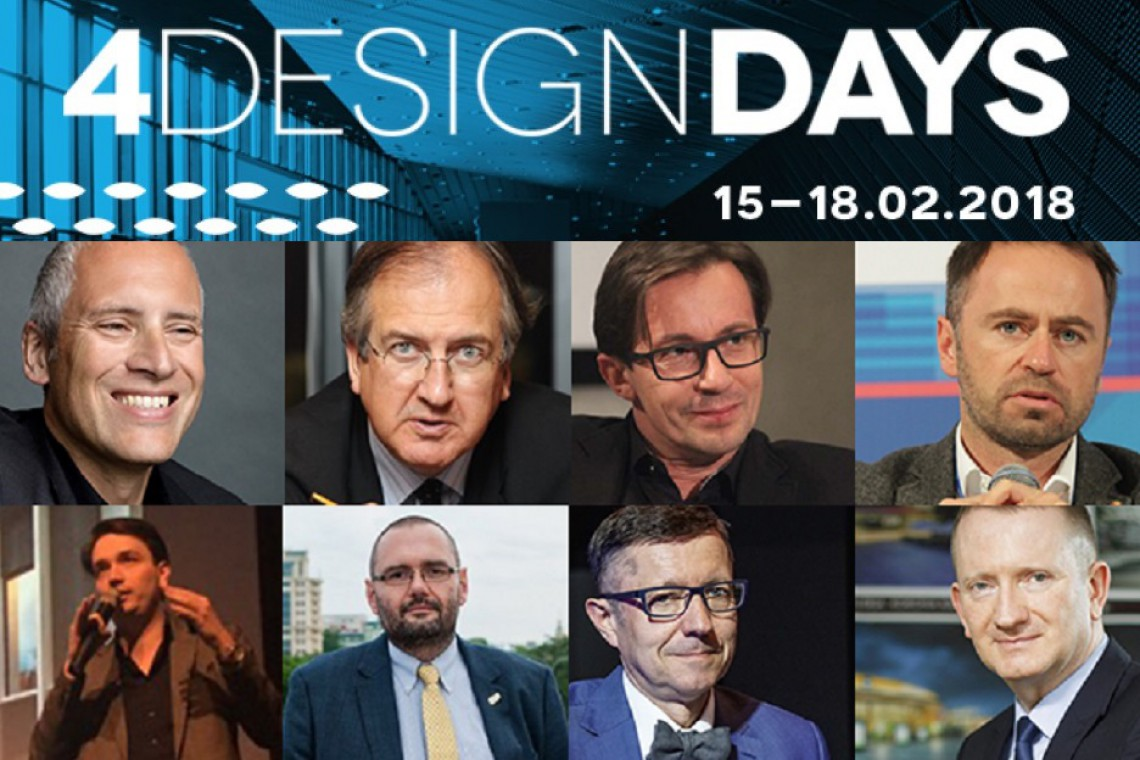 4 Design Days 2018: Oto kolejni potwierdzeni goście!