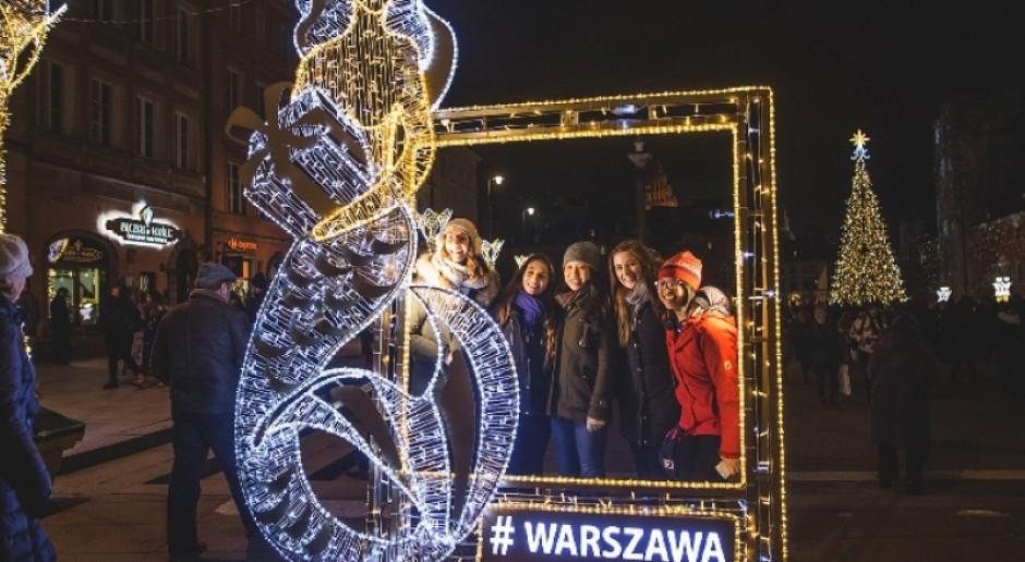 Warszawa kusi weekendem z iluminacją