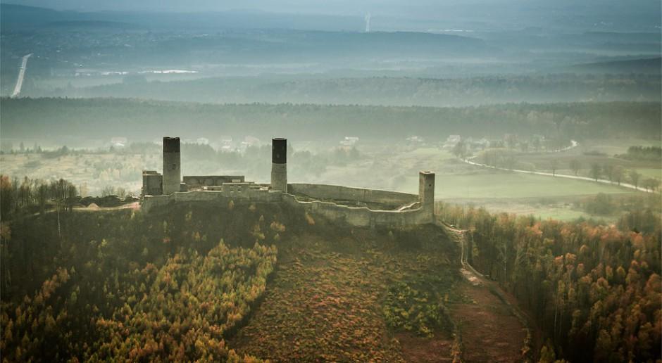 Zamek w Chęcinach po renowacji świeci triumfy