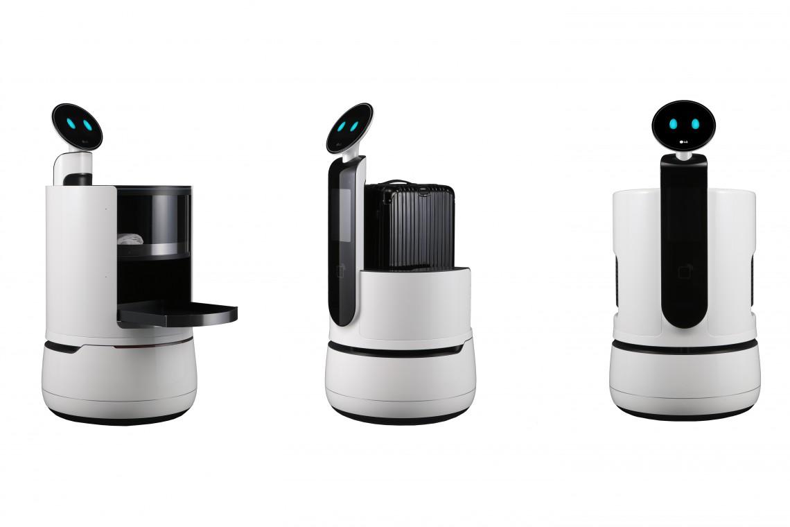 Robot-kelner, robot-portier i robot-wózek na zakupy. To nowe roboty od koreańskiego giganta