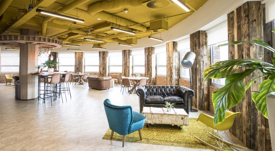 Oto pełne koloru biuro światowego giganta IT w Holandii