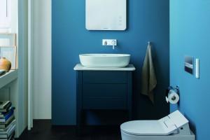 Twórcze kreowanie łazienki z kolorowymi meblami