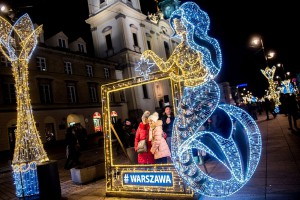 Od morza aż do Tatr. Najbardziej oryginalne iluminacje polskich miast