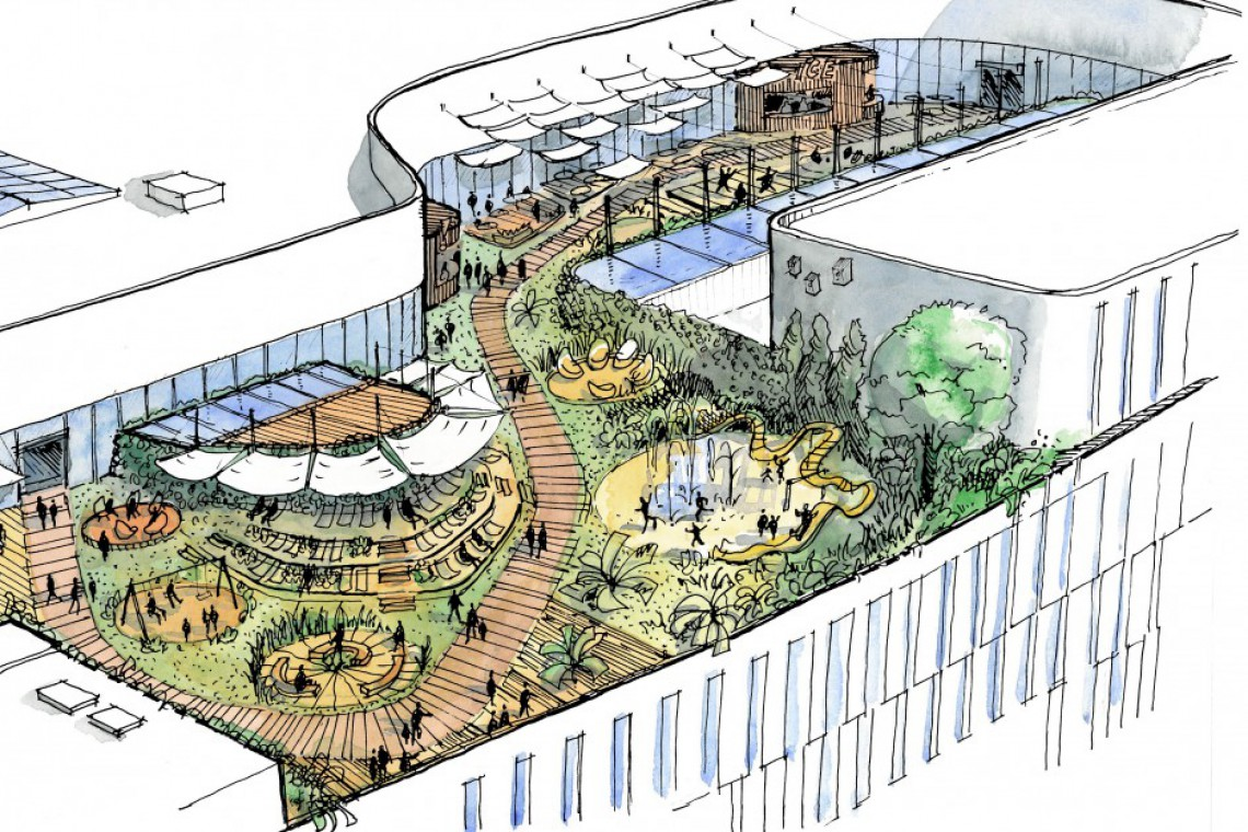 Oto zwycięski projekt strefy gastronomicznej w Galerii Młociny