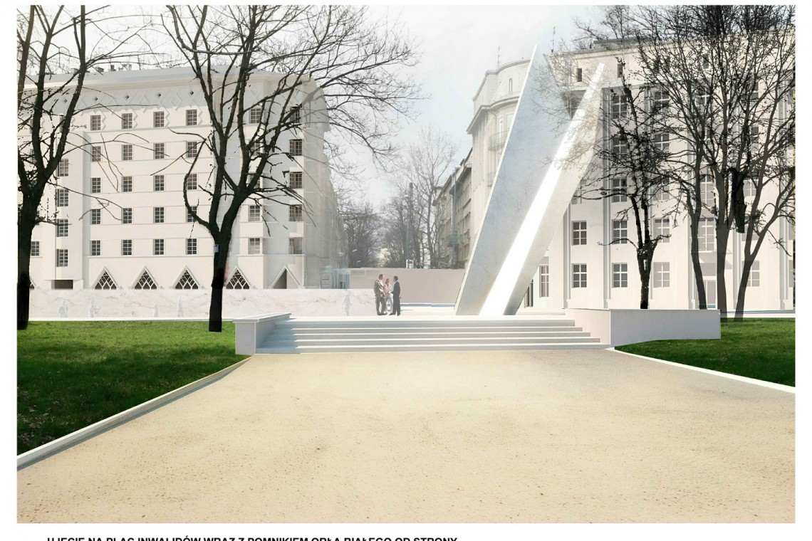 Oto pomnik, który stanie na Placu Inwalidów w Krakowie