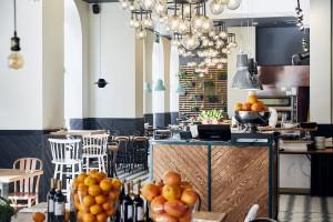 Włoskie smaki w stylowym opakowaniu - oto Trattoria Degusti szkicu Iliard i Grycaj Design