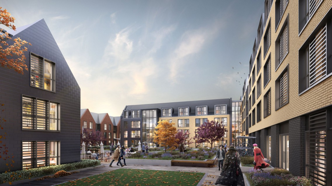 Tak będzie wyglądała wioska studencka w Oxfordzie