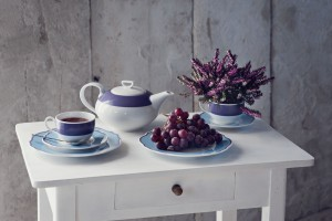 Podążając za trendami. Porcelanowe inspiracje w barwach Ultra Violet