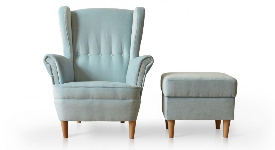 Fotel typu uszak - wielki powrót klasyki designu
