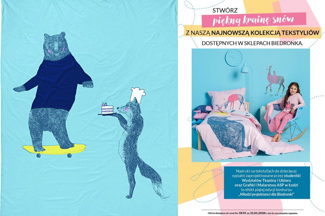 ASP stworzyło kolekcję tekstyliów dla... Biedronki