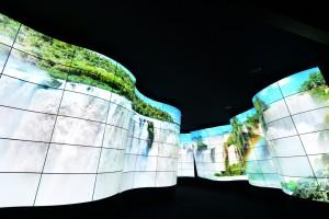 Zadziwiająca instalacja z elastycznych paneli OLED