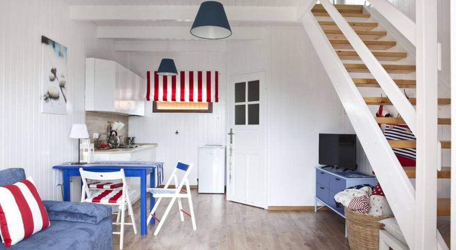 Metamorfoza domku wypoczynkowego w stylu marynistycznym