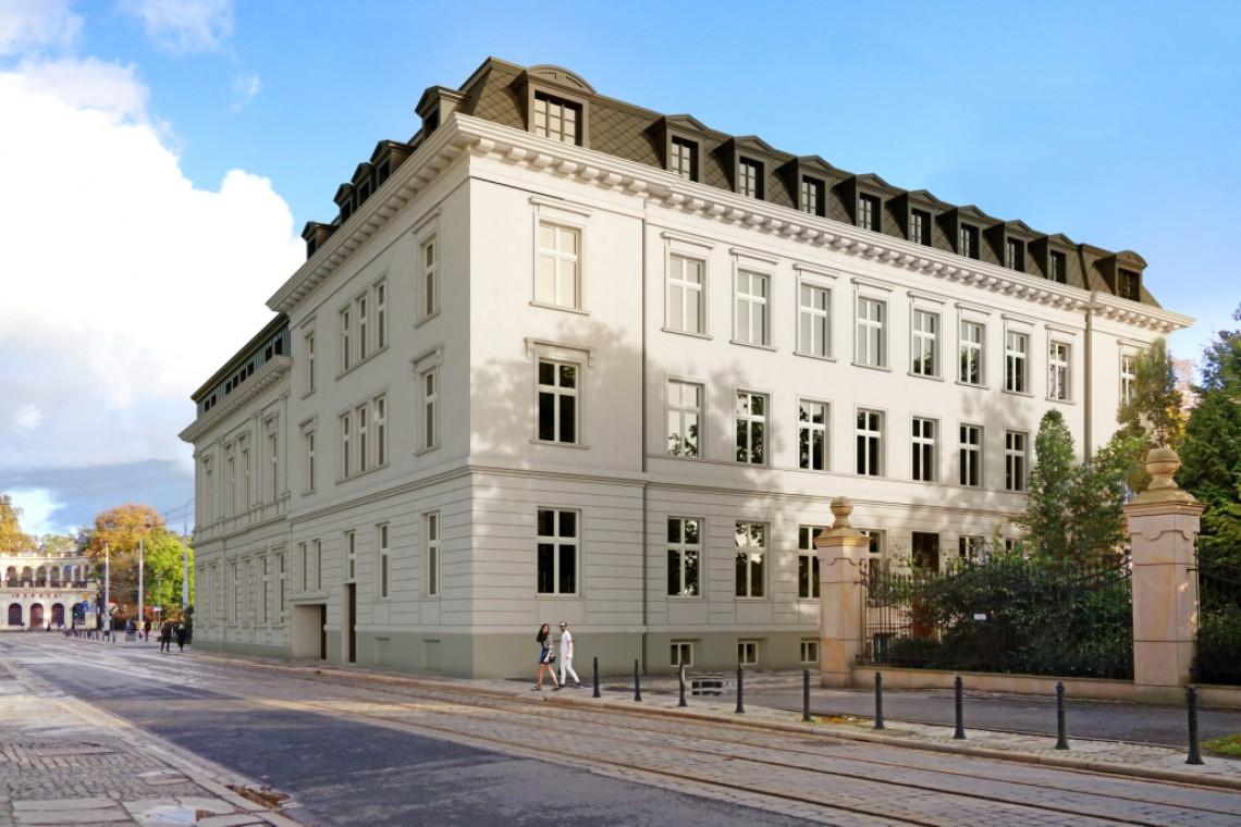 Pięciogwiazdkowy hotel w zabytkowym pałacu