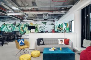 Nowe biura Viacom zaprojektowane przez Mood Works