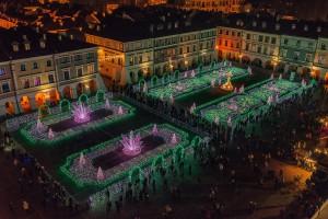 Świetlna stolica Polski jest w... Zamościu