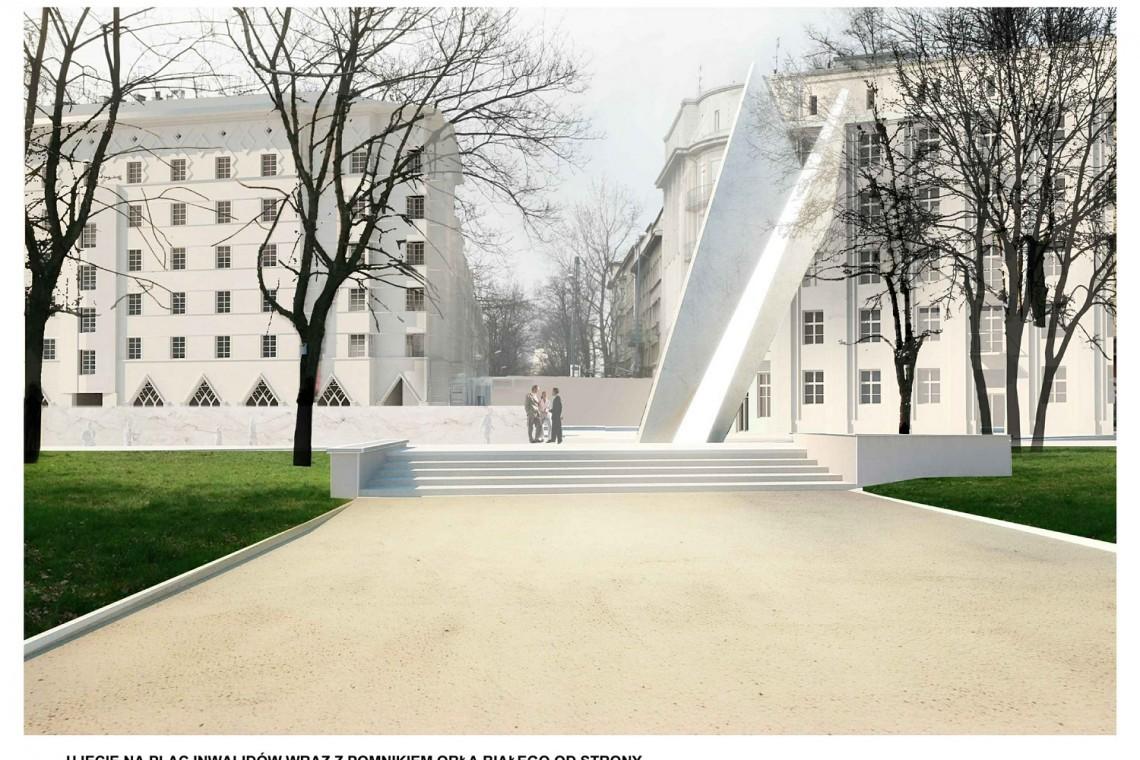 Pomnik na placu Inwalidów w Krakowie budzi kontrowersje