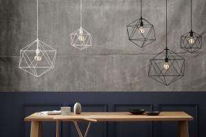 Lampy pełne fantazyjnych form i ciekawych połączeń