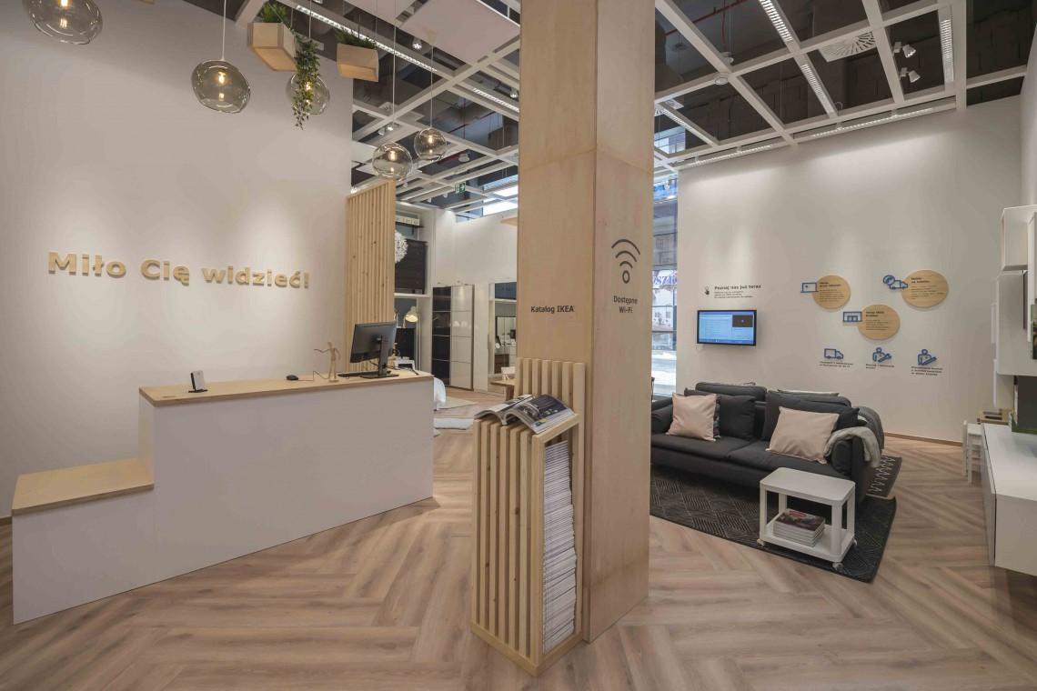 Ikea w Millenium Hall ułatwia dostęp do produktów
