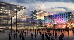 Zobacz, jak będzie wyglądać główny plac Nowego Centrum Łodzi