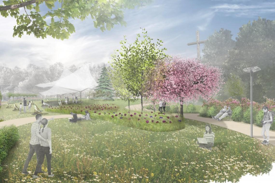 Tak się zmieni park na Kamiennej Górze